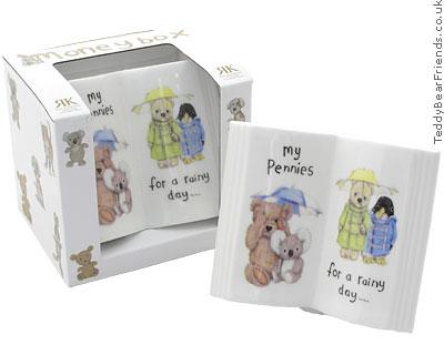Roy Kirkham Teddy Bear Money Box