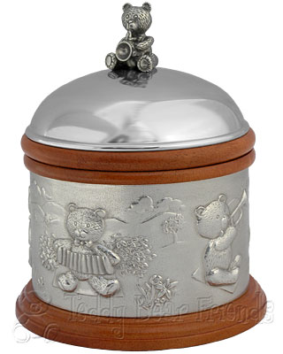 Royal Selangor Teddy Bear Picnic Music Box