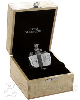 Royal Selangor Teddy Bear Musical Carousel in Gift Box