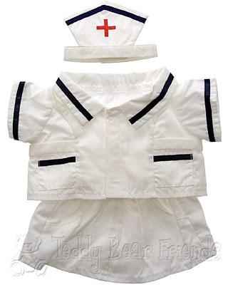 Teddy Bear Clothes Shop Teddy Bear Nurse Costume