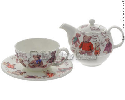 Roy Kirkham My Favourite Teddy Teapot and Cup