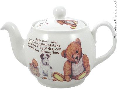 Roy Kirkham Lost Bears Teapot