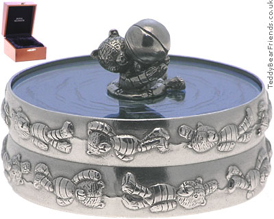 Royal Selangor Teddy Bear Trinket Box