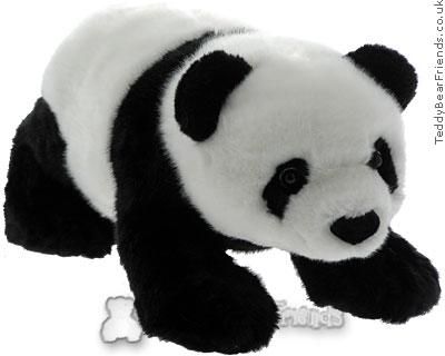 Teddy Hermann Panda Baby