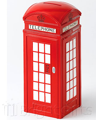 Where The Smart Money Is Telephone Box Money Bank