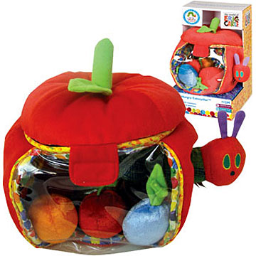 Rainbow Designs The Hungry Caterpillar Apple Playset
