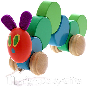 Rainbow Designs The Hungry Caterpillar Pull Along Toy
