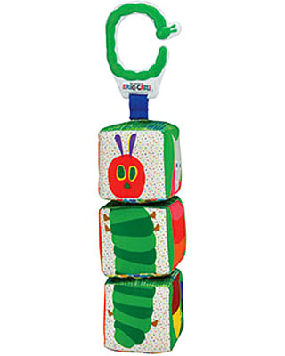 Rainbow Designs Hungry Caterpillar Twist Click Blocks