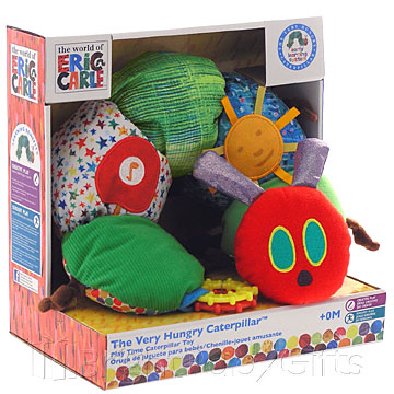 Rainbow Designs The Very Hungry Caterpillar Play Time Toy