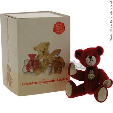 Teddy Hermann Tiny Valentines Bear