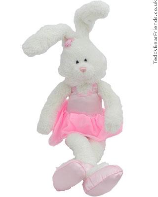 Gund Pink Ballet Bunny