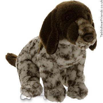 Teddy Hermann Toy Hound Dog