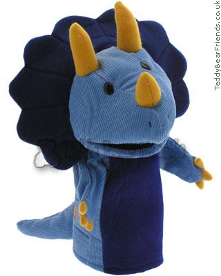 Gund Triceratops Dinosaur Puppet