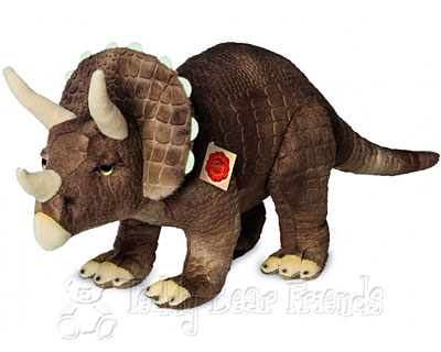 Teddy Hermann Triceratops Dinosaur Soft Toy