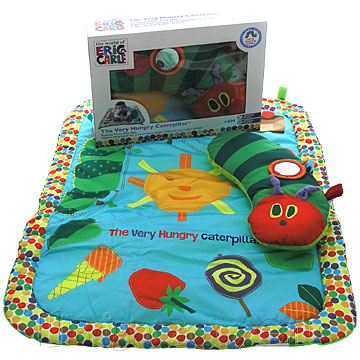 Tummy Time Playmat Pillow Rainbow Designs Teddy Bear