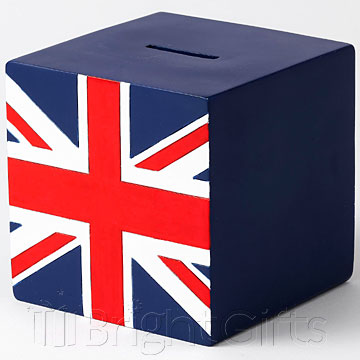 Where The Smart Money Is Union Jack Money Bank