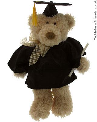 Teddy Bear Friends Exclusive University Graduation Bear
