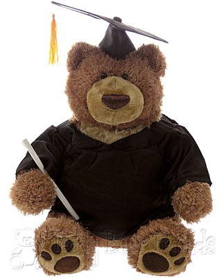 Teddy Bear Friends Exclusive University Graduation Teddy Bear