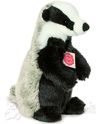 Teddy Hermann Soft Toy Badger