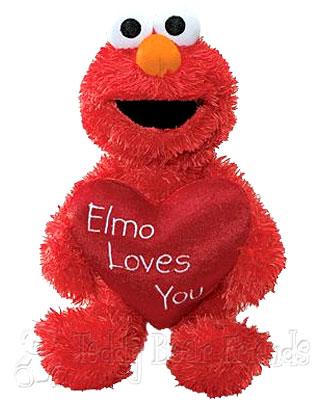 Gund Valentines Day Elmo