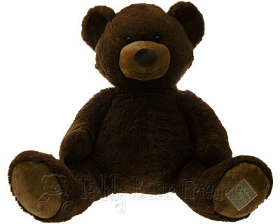 Histoire d'Ours Very Large Brown Teddy Bear