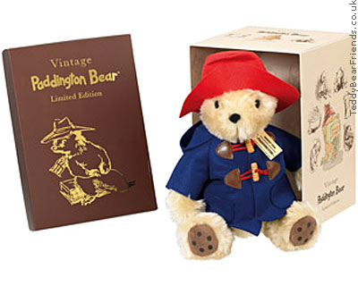 Rainbow Designs Vintage Paddington Bear In Box