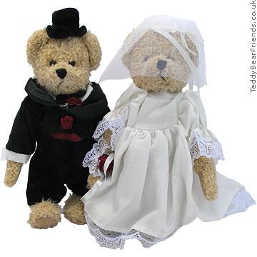 Bukowski Wedding bears