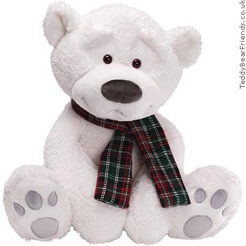 Gund Snowsly Polar Bear Extra Large