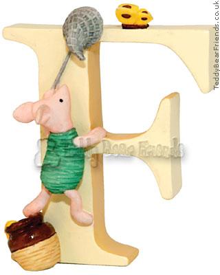 Border Fine Arts Winnie The Pooh Alphabet F