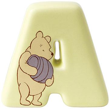 Border Fine Arts Winnie the Pooh Alphabet Letter A