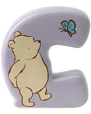 Border Fine Arts Winnie the Pooh Alphabet Letter C