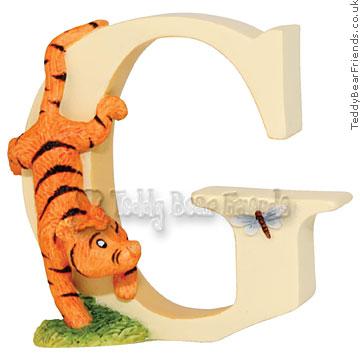 Border Fine Arts Winnie the Pooh Alphabet Letter G