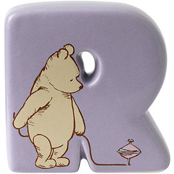 Border Fine Arts Winnie the Pooh Alphabet Letter R