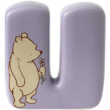 Border Fine Arts Winnie the Pooh Alphabet Letter U