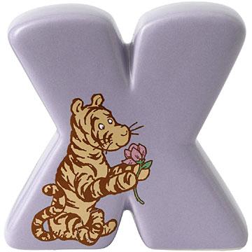 Border Fine Arts Winnie the Pooh Alphabet Letter X