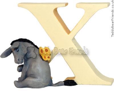 Border Fine Arts Winnie the Pooh Alphabet Letters X
