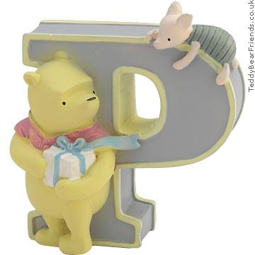 Pepperpot Winnie The Pooh Alphabet P