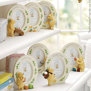 Border Fine Arts Winnie The Pooh Thursday Picture Frame