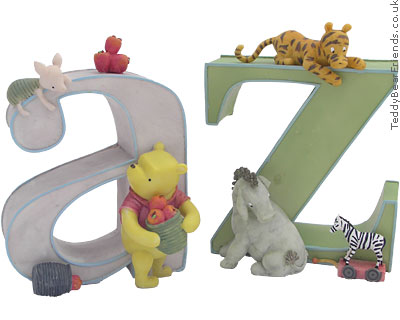 Pepperpot Winnie The Pooh Bookends