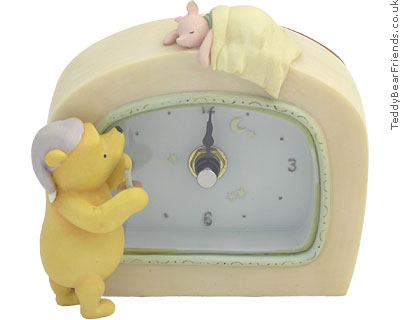 Winnie The Pooh Desk Clock Michel And Company Teddy