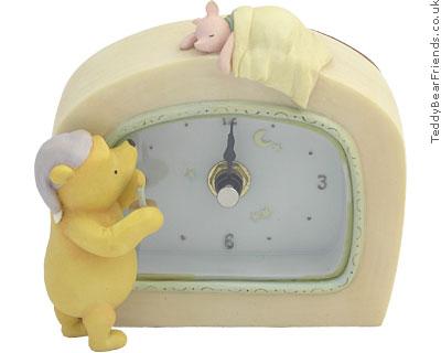 Michel and Company Winnie The Pooh Desk Clock
