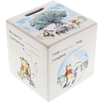 Disney Enchanting Collection Winnie the Pooh Money Box
