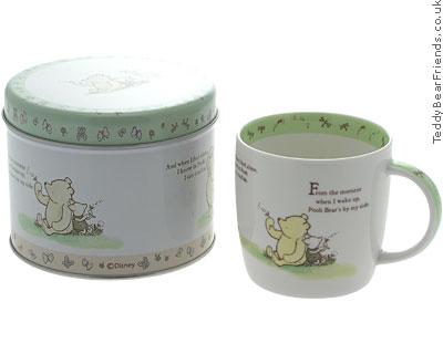 Churchill Winnie The Pooh Mug in a Tin