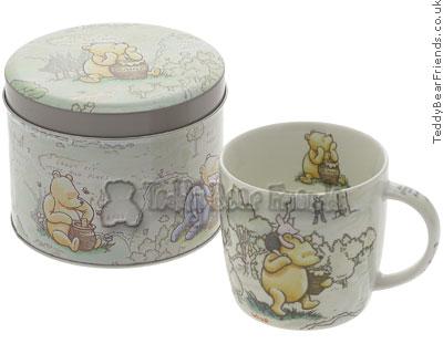 Churchill Winnie The Pooh Mug in Tin