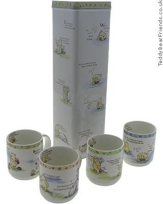 Churchill Winnie The Pooh Mugs in Tin