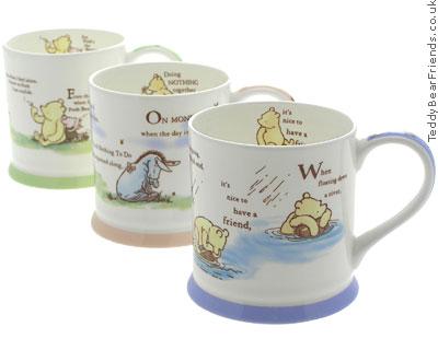 Churchill Winnie The Pooh Mugs