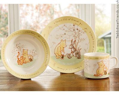 Border Fine Arts Winnie The Pooh Nursery Set
