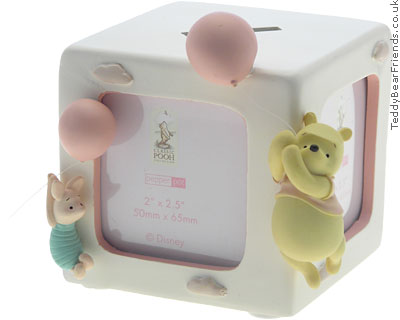 Pepperpot Winnie the Pooh Photo Cube
