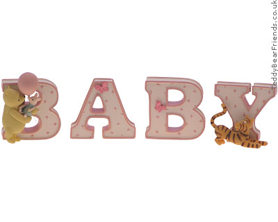 Pepperpot Pink Baby Word