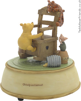 Pepperpot Winnie The Pooh Rocking Chair Musical